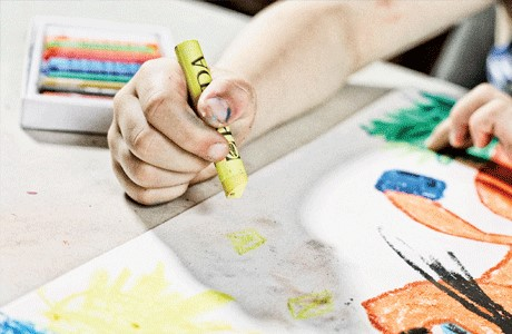 Acuarela Manualidades Valdemoro pequeños artistas