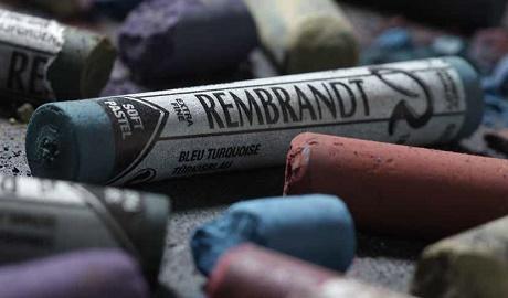 manualidades valdemoro galería Pastel Rembrandt 1